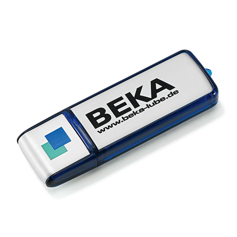 Aluminium USB-Stick - mit Logo-Print oder Gravur